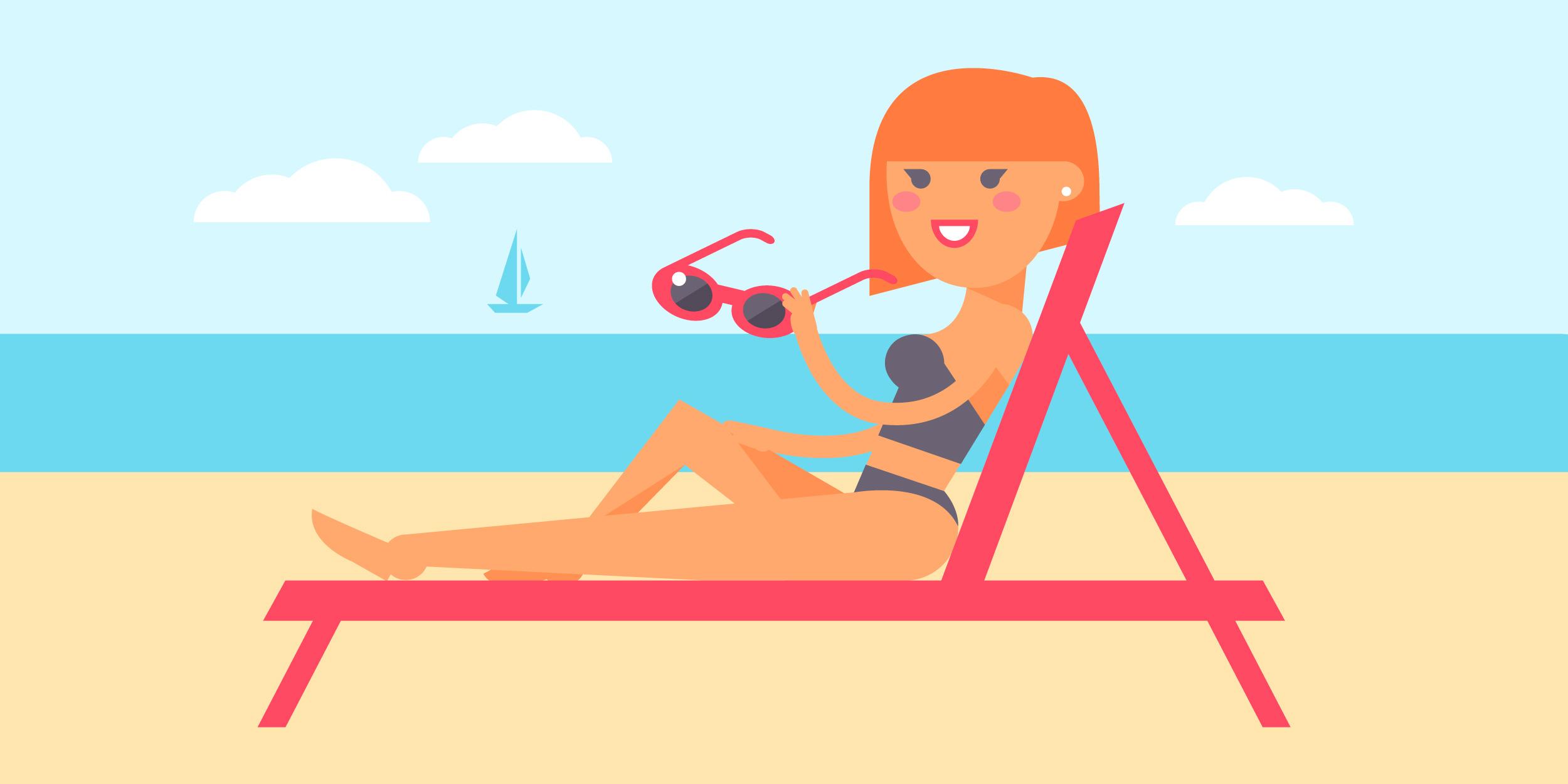 Приложение UVLens подскажет, сколько можно находиться на солнце без угрозы для здоровья