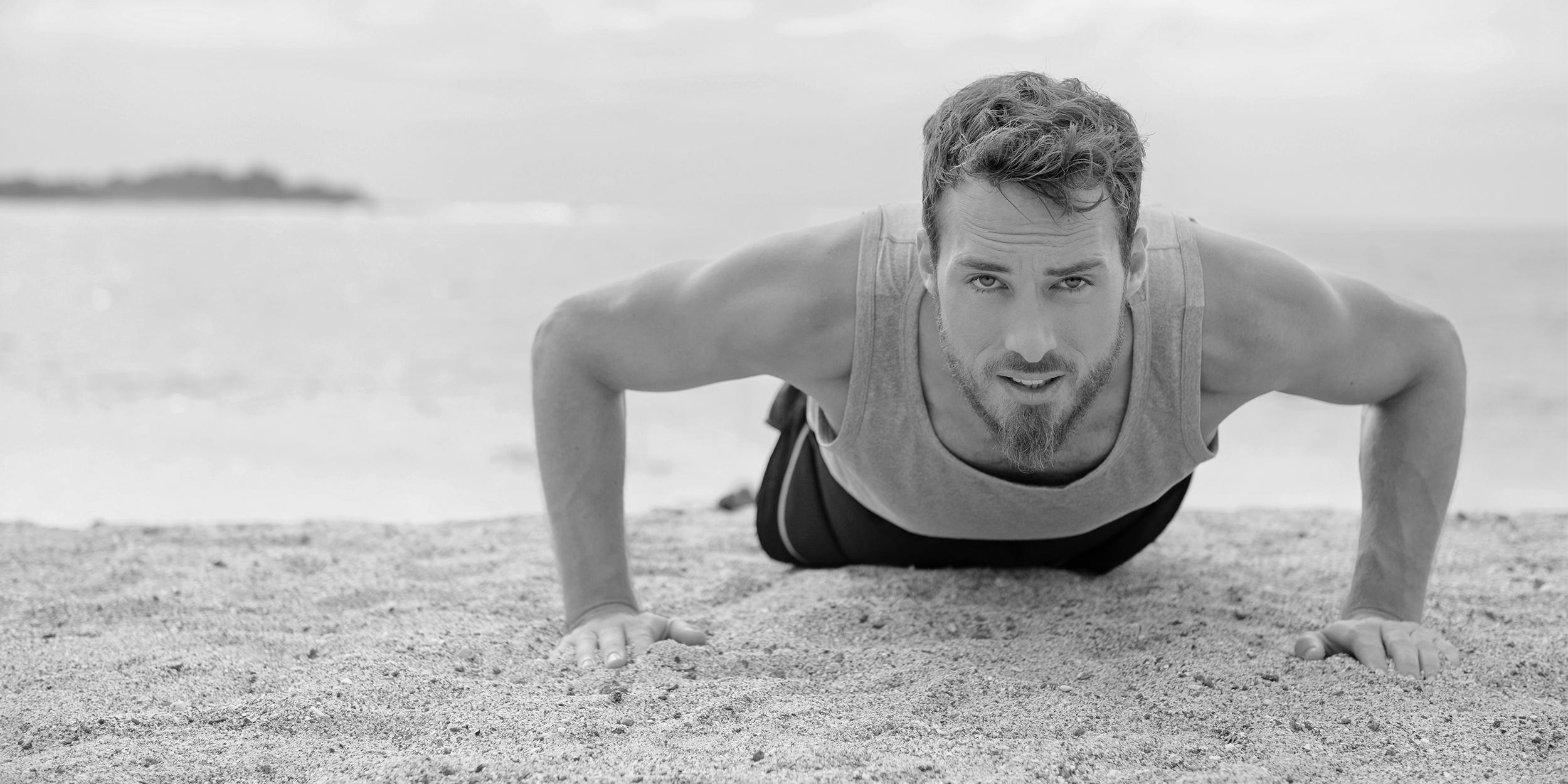 Пляжные тренировки от игрока NBA Горана Драгича