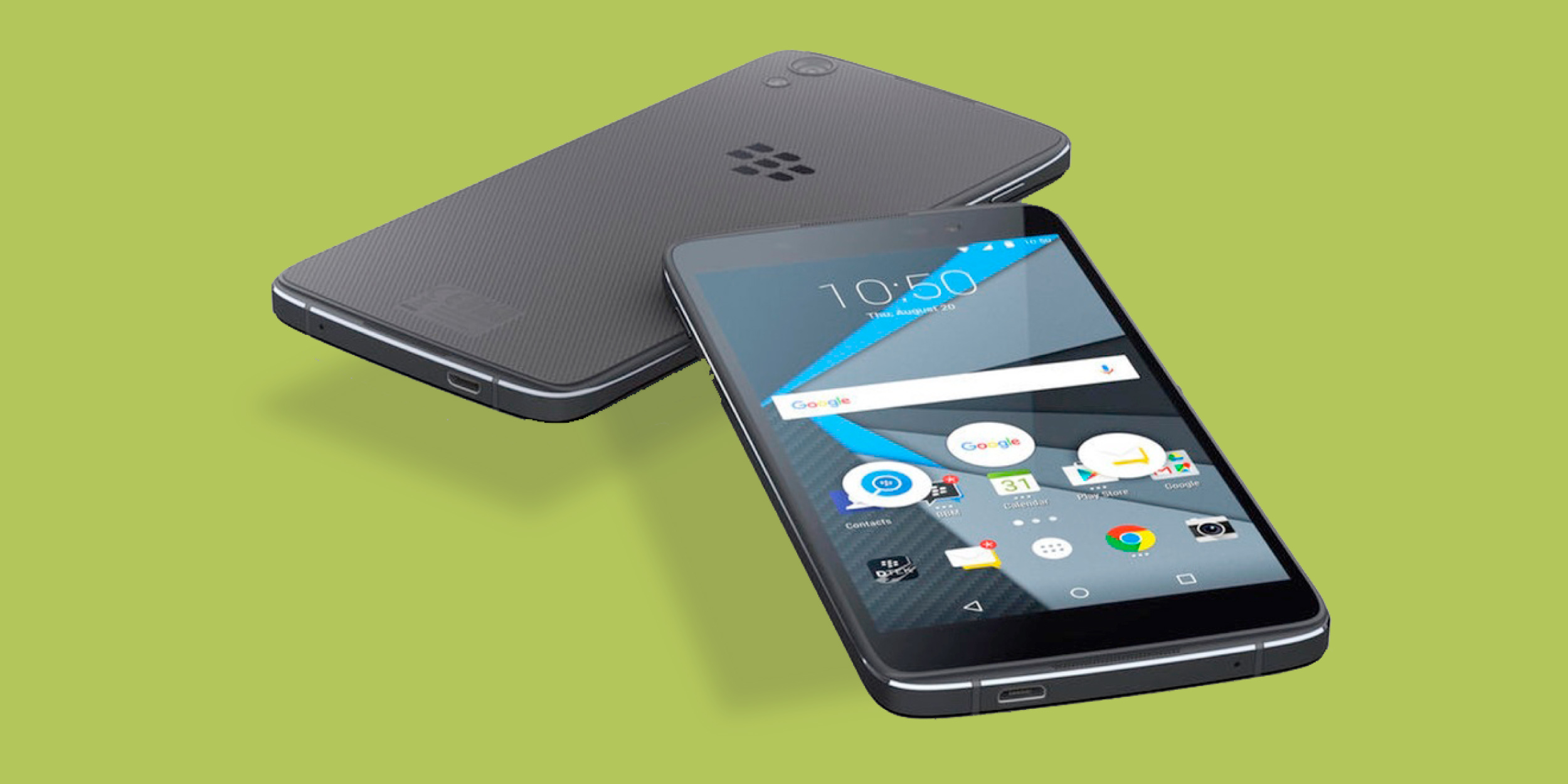 BlackBerry представила «самый защищённый» Android-смартфон DTEK50