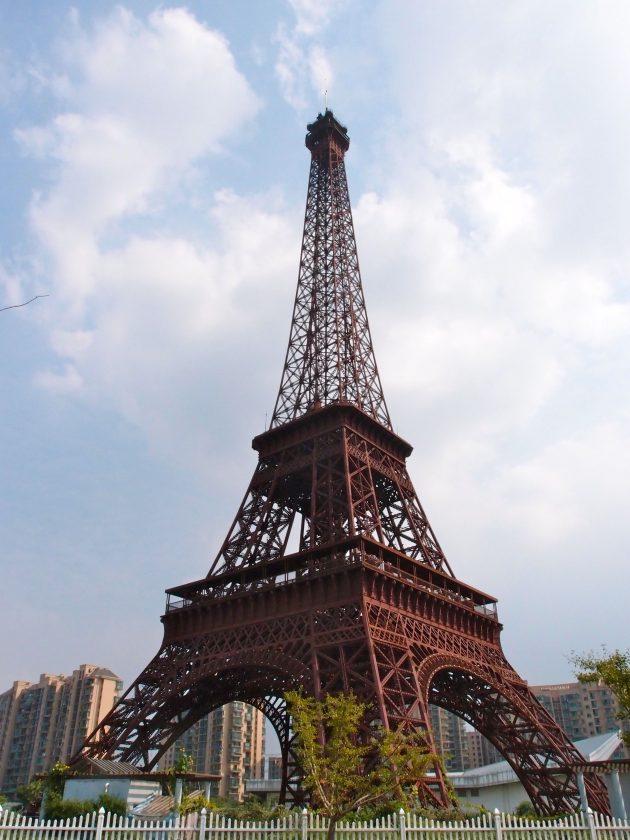 Тяньдучэн: копия Эйфелевой башни