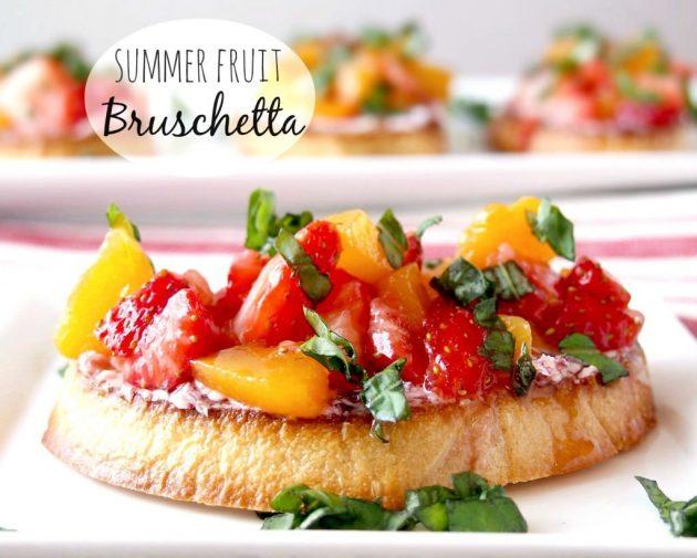 рецепты летних закусок