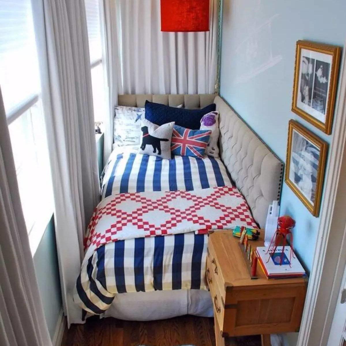 Идеи для маленькой лоджии, которые сделают ее самой уютной к.