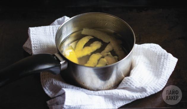Кофейный лимонад: приготовьте сироп