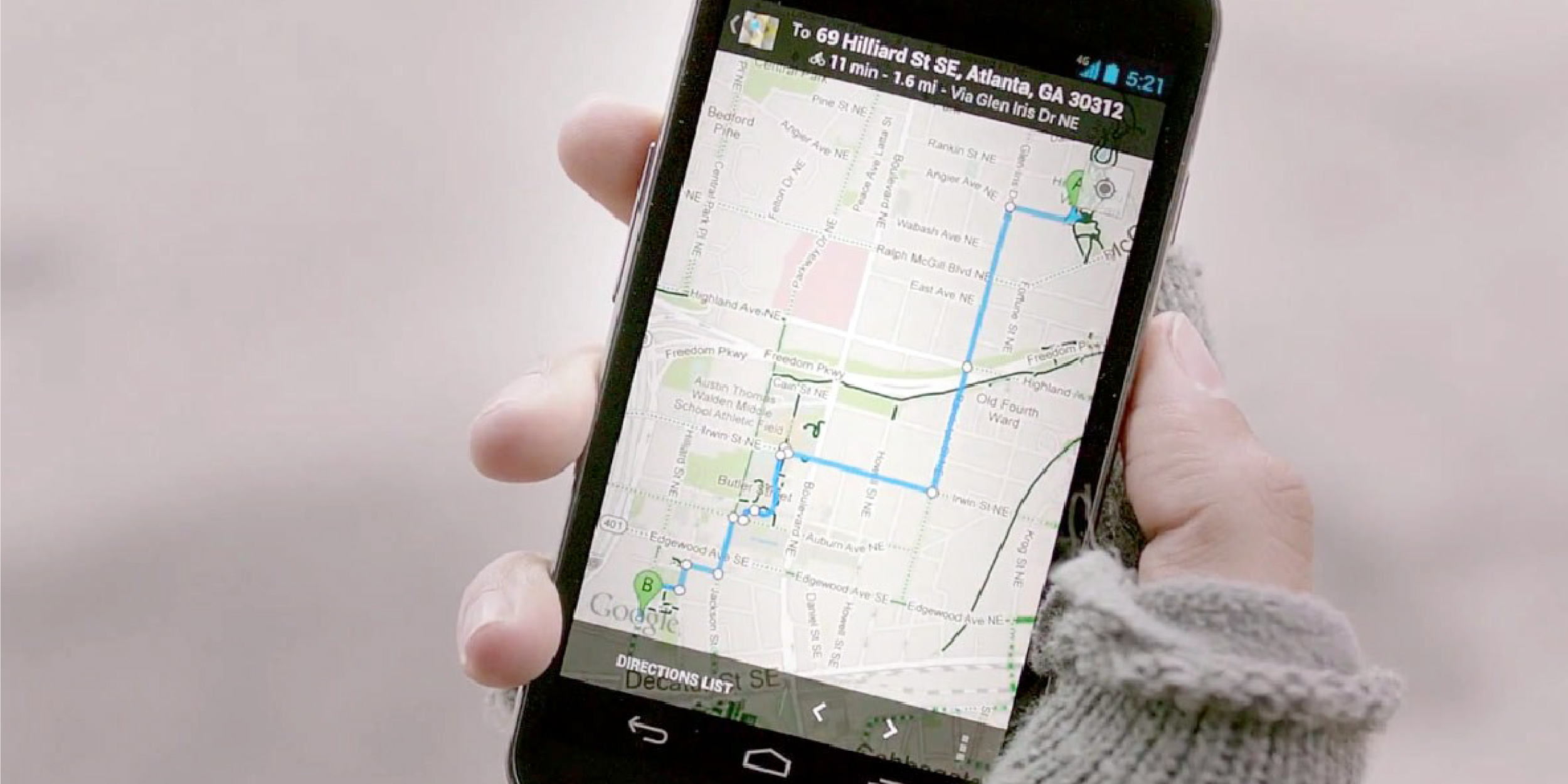 Google обновила внешний вид карт для основных платформ