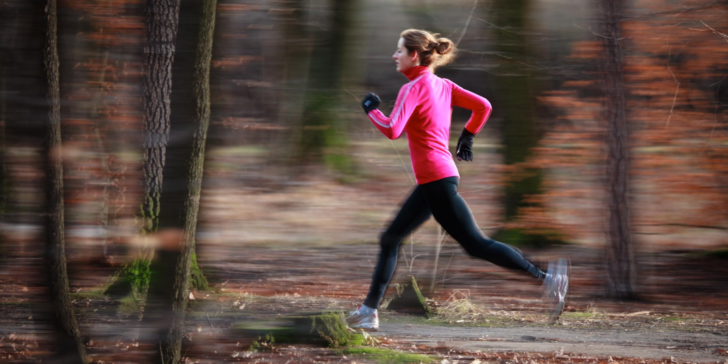 Любительский бег не вредит вашим коленям