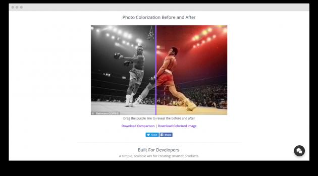Colorize Photos: работа с фотографиями
