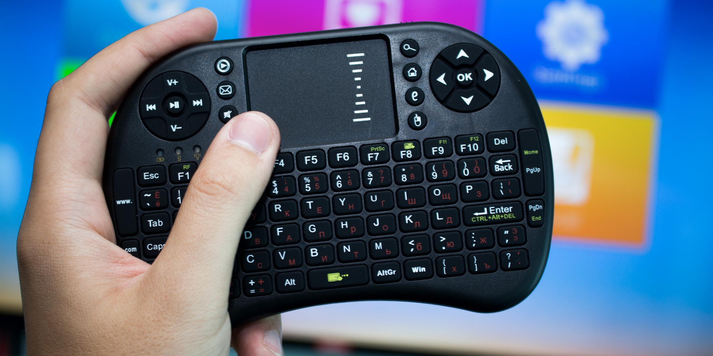 Smart TV с полноценным Android и беспроводной клавиатурой за 2 400 рублей