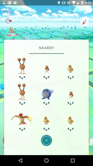 pokemon go как искать покемонов
