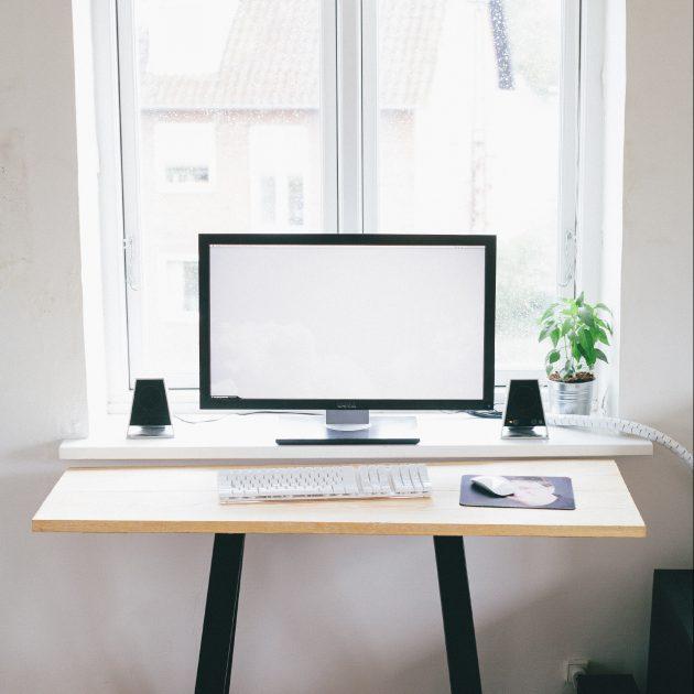 Дизайн маленькой квартиры: подоконник