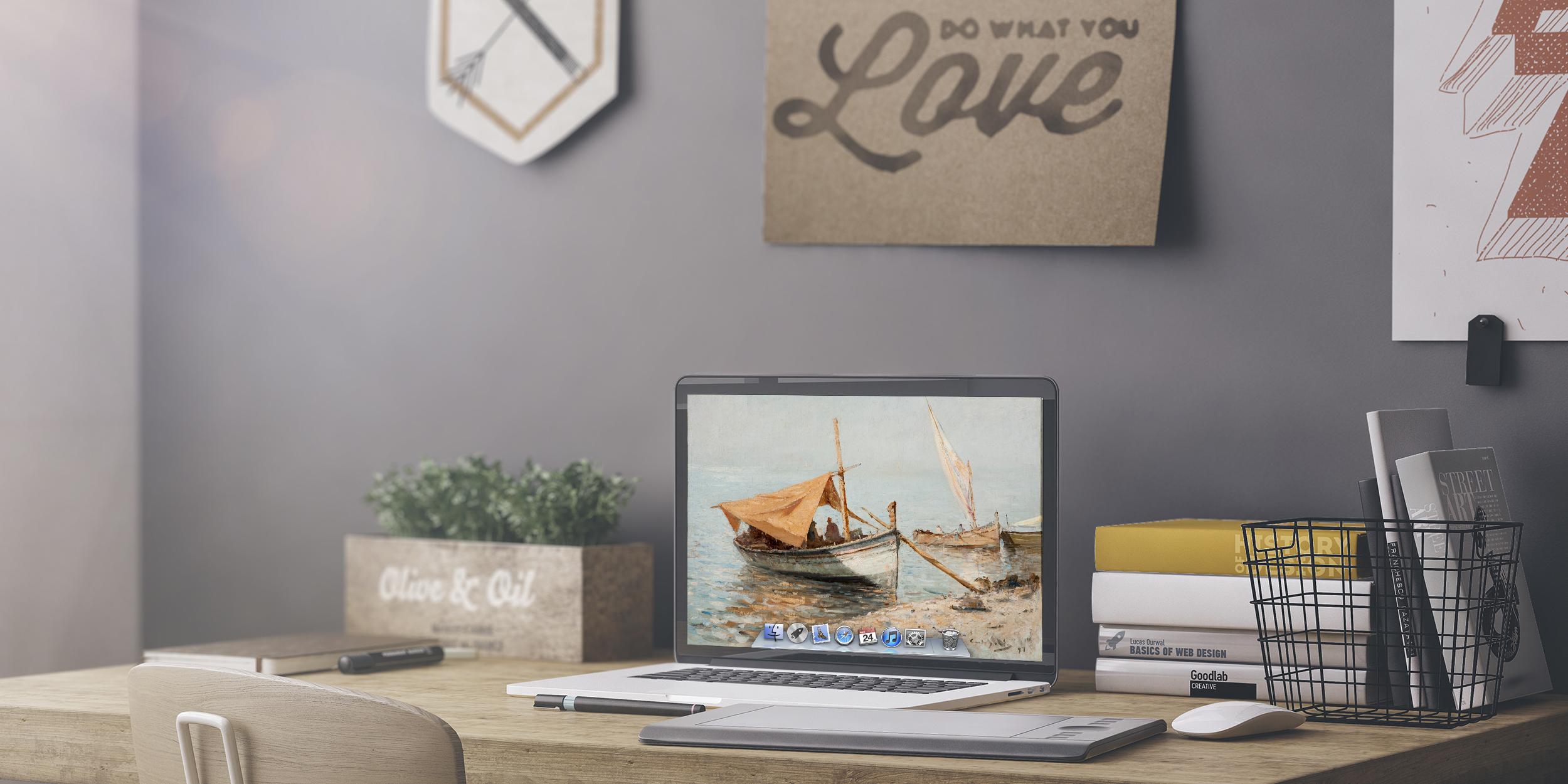 Artpaper: шедевры мировой живописи в качестве обоев для вашего Mac