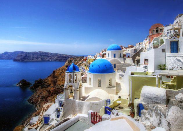 куда поехать осенью: Греция