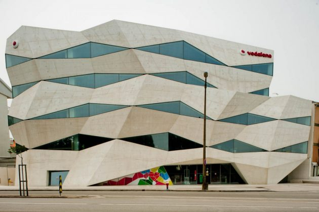 архитектура Европы: Vodafone Headquarters in Portugal