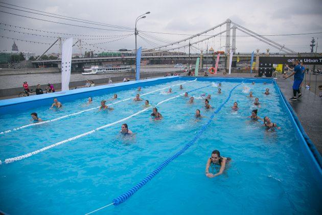 adidas Urban Tri: плавание