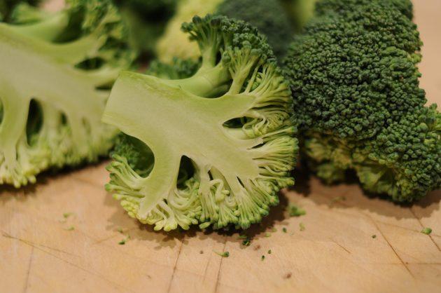полезные продукты: брокколи