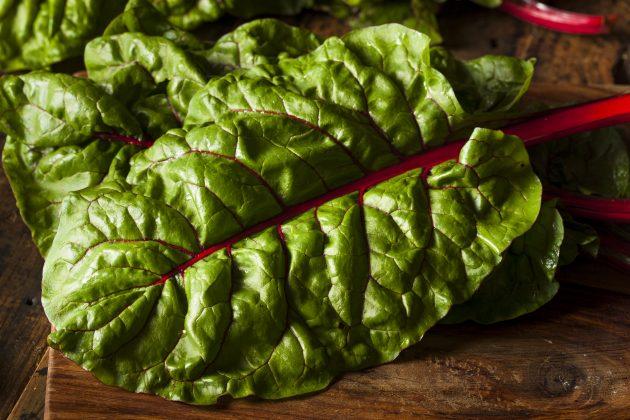 жиросжигающие продукты: листовая свекла