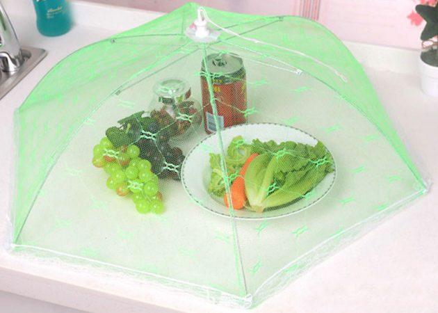 Антимоскитный зонт для еды