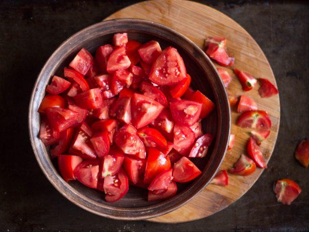 томатный джем: томаты