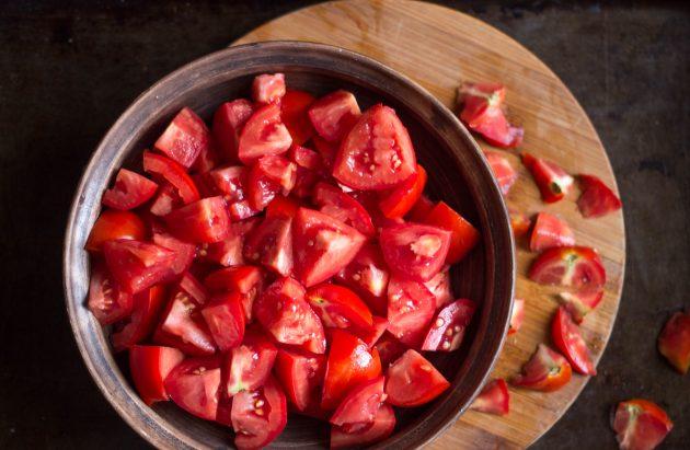Томатный джем: подготовьте помидоры