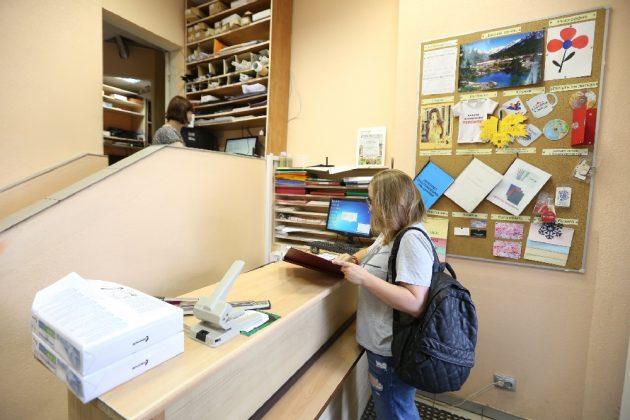 Киоск в университете — малый бизнес
