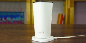 Moikit Cuptime2 — умный стакан, который спасёт вас от обезвоживания