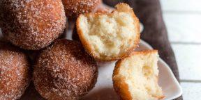 Как приготовить пончики за 15 минут