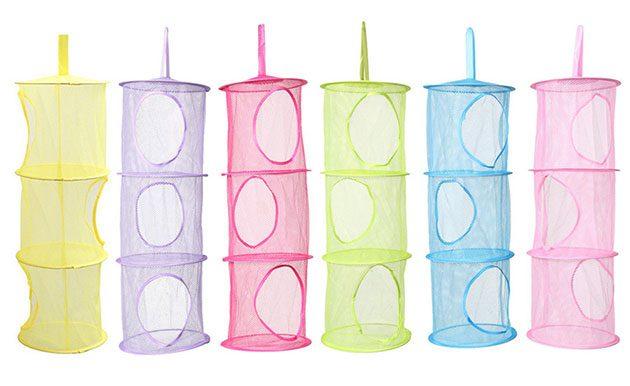 Подвесные мешки для игрушек