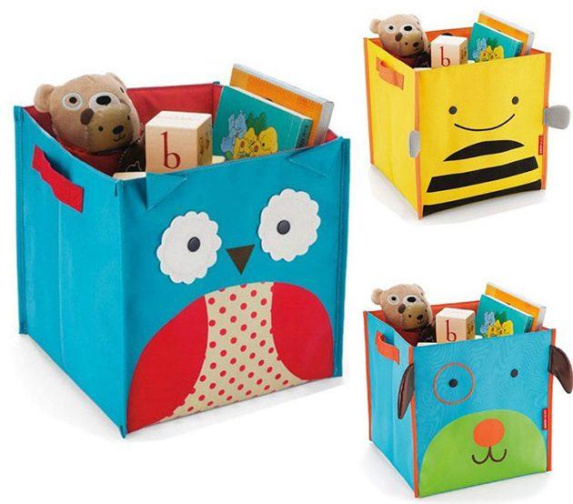 Мультяшные коробки для игрушек