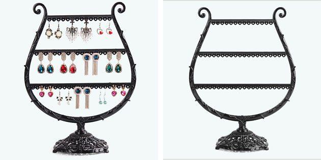 Органайзер для серёжек в виде чаши