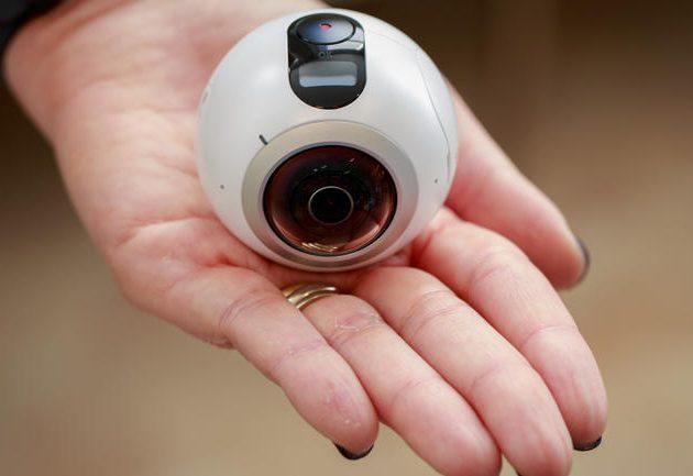 VR-гаджеты: Samsung Gear 360