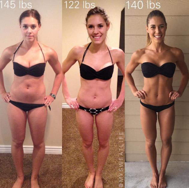 Келси Уэллс: идеальный вес и физическая форма