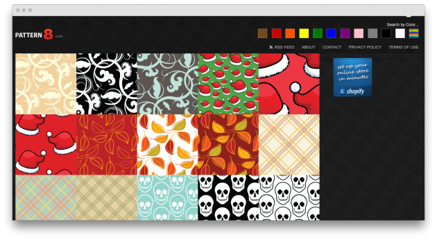 Бесплатные фоны на Pattern8