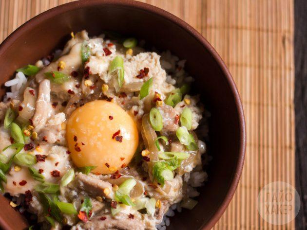 Как приготовить оякодон: вариант подачи блюда
