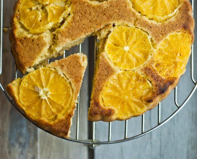здоровый завтрак: полента с апельсином