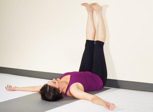 асаны йоги: Випарита Карани