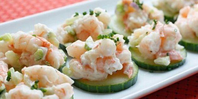 полезные перекусы: салат