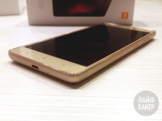Xiaomi Redmi 3s: внешний вид