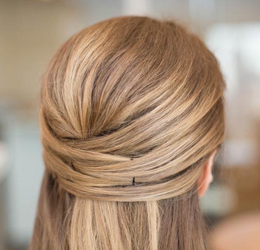 Простые причёски: простое плетение