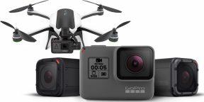 GoPro представила новые экшен-камеры Hero5 и квадрокоптер Karma