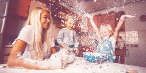 Почему важно готовить вместе с детьми