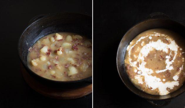 Паста с ветчиной и соусом из дыни: приготовьте соус