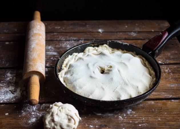 Яблочный тарт татен: сделайте отверстие в центре