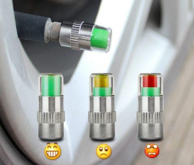 Индикаторы давления в шинах