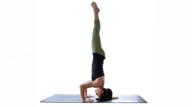 асаны йоги: Ширшасана II