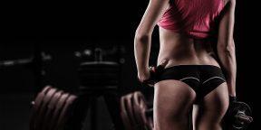 Упражнения для подтянутой попы от тренера по фитнес-бикини