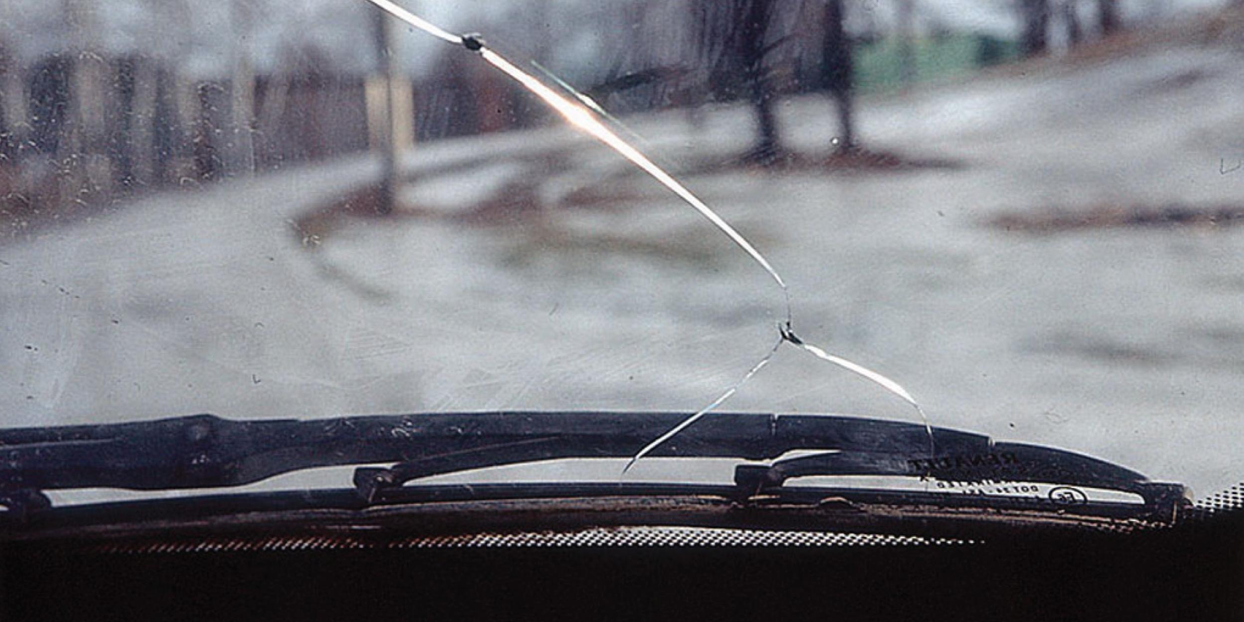 Заделать трещину лобового стекла своими руками фото 373
