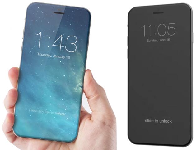 Новый дисплей iPhone 8