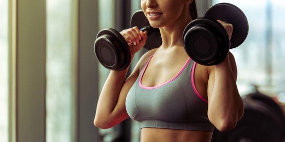 4 упражнения для девушек, направленные на укрепление мышц верхней части спины