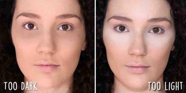 ошибки в макияже: консилер