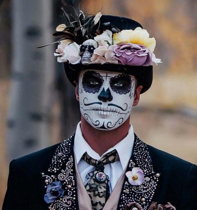 костюм на хеллоуин: святая смерть