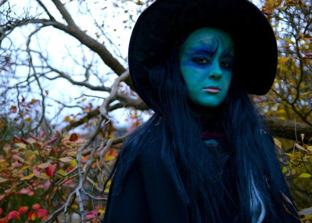 макияж на хеллоуин: ведьма 4